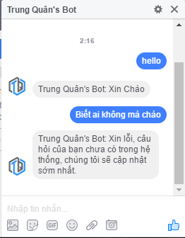 done messenger bot facebook